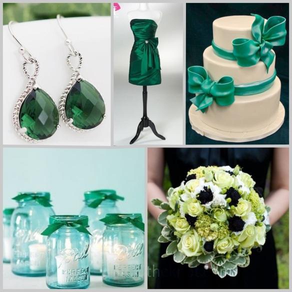 Boda verde esmeralda 3