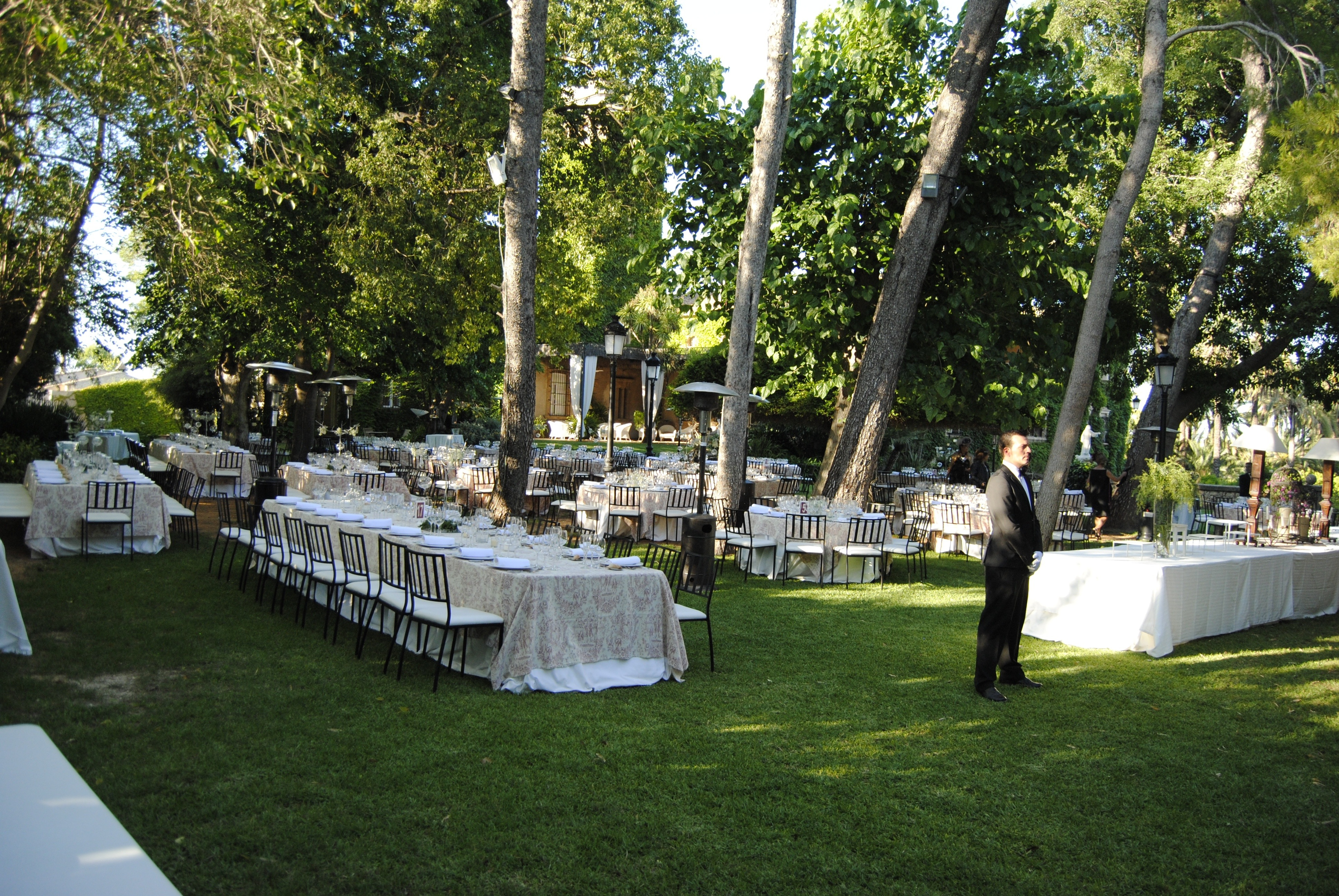 Decoración de la boda de segunda mano