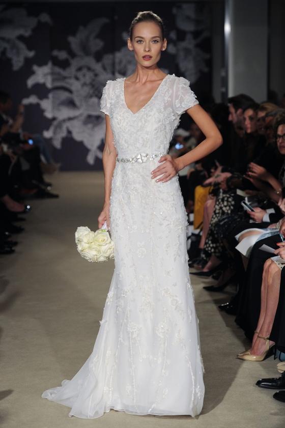 Bridal Fashion Week, Carolina Herrera, Spring 2015