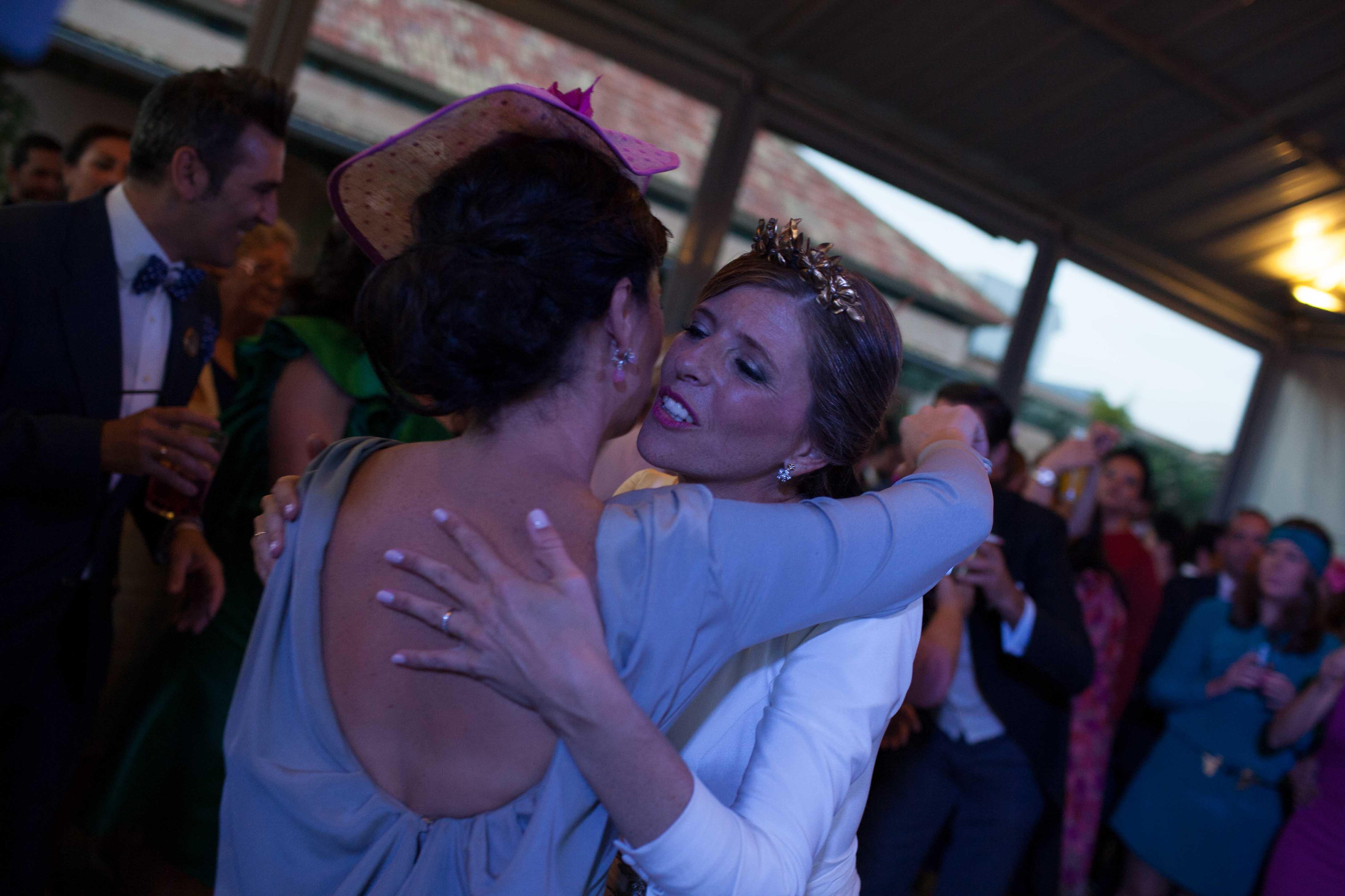La boda de Rocío y Julio - Hortensias Azules